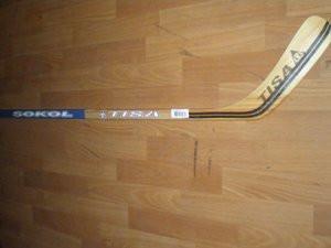 Клюшка хоккейная TISA SOCOL, подростковая (L,R)