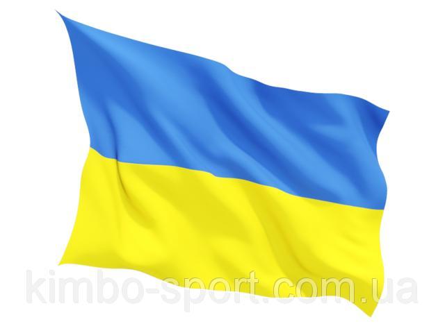 Флаг Украины желто-голубой, большой, 1,00 х 0,70 см.