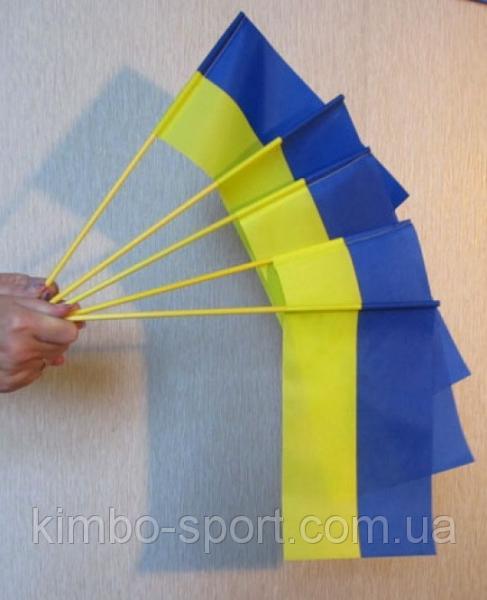 Флаг Украины желто-голубой, маленький, 0,30 х 0,50 м.