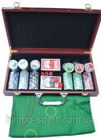 Набор покерный из 300 керамических фишек