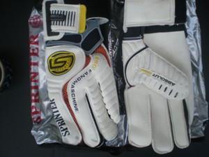 Перчатки вратарские профи SPRINTER (размер 10)