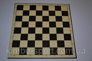 Доска картонная для игры в шахматы, шашки.