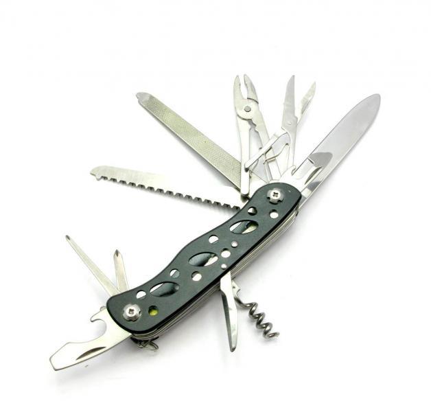 Нож перочинный, 11 в 1