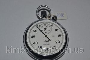 Секундомер механический, предназначеный для измерения времени в минутах, секундах и долях секундах.