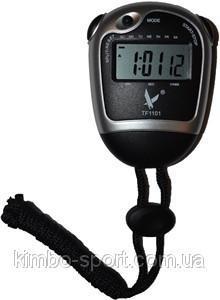Электронный секундомер для измерения интервалов времени в часах, минутах, секундах, долях секунды.