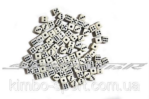 Кубик игральный, (в упаковке - 100 шт.) №9