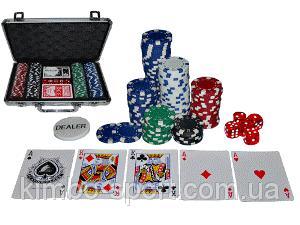 """""""TEXAS HOLDEM"""" 200 набор для игры в покер, в кейсе"""