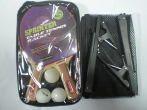 Набор для н. т. Sprinter (2 ракетки + 3 шарика + сетка со стойками) в чехле