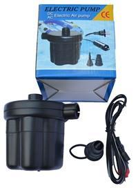 Насос-компрессор электрический, напряжение - 12 В.