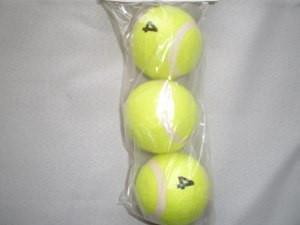 Мяч для б/т (3 шт. в пакете), 4 сорт