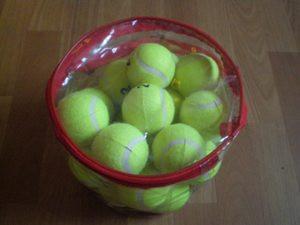 Мяч для б/т (24 шт. в сумочке), 2 сорт