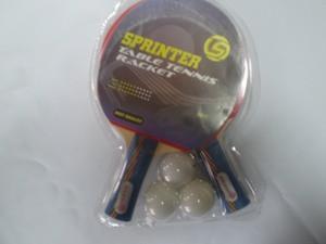 Набор для н. т. Sprinter (2 ракетки + 3 шарика в слюде)