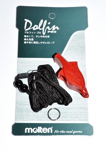 Свисток MOLTEN (красный, желтый, черный)