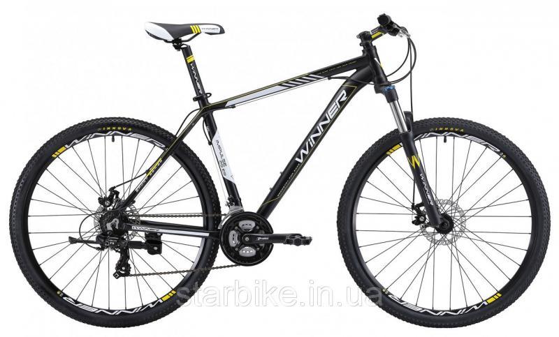"""Горный велосипед WINNER IMPULSE 29"""" черно-белый-матовый"""