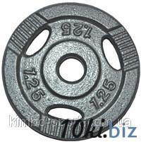 Диск для штанги, металл, порошковая окраска, вес - 1,25 кг Гантели, гири, штанги и диски на Электронном рынке Украины
