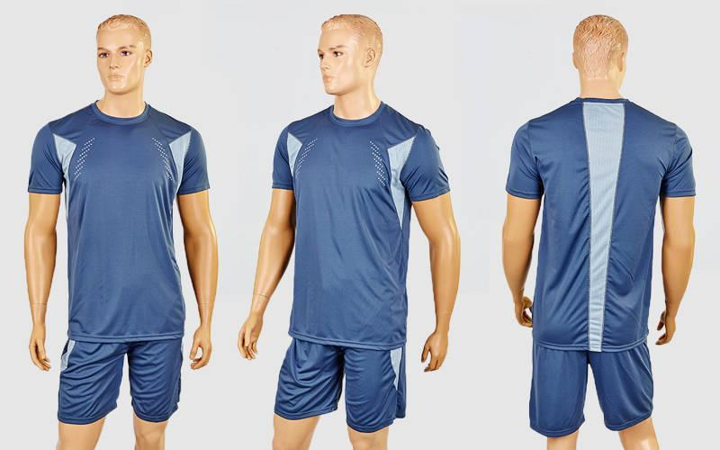 Футбольная форма Absolut  (PL, р-р M-XL, серый, шорты серые)