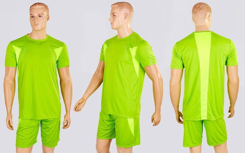 Футбольная форма Absolut  (PL, р-р M-XL, салатовый, шорты салатовые)