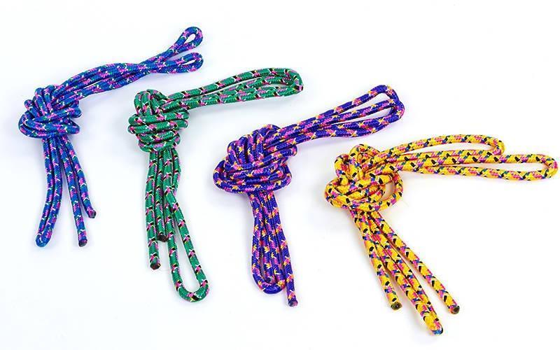 Скакалка для художественной гимнастики l-3м Радуга  (PL, d-9мм, цвета в ассортименте)