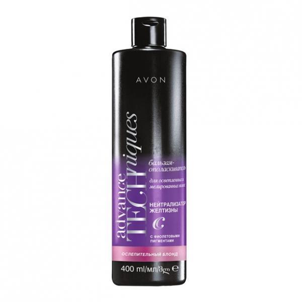 Бальзам-ополаскиватель для светлых и мелированных волос «Сияющий блонд» (400 мл)