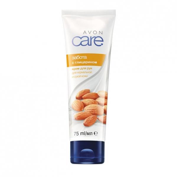 Крем для рук с глицерином «Забота» (75 мл)