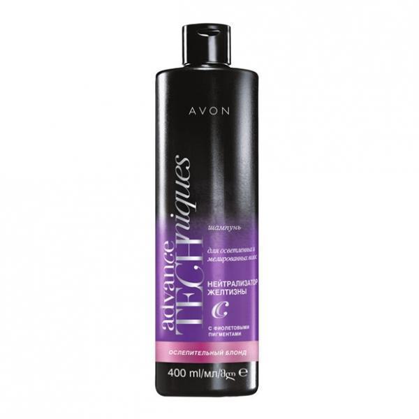 Шампунь для осветленных и мелированных волос «Сияющий блонд» (400 мл))