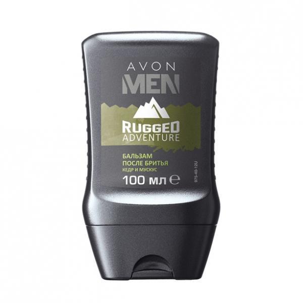 Бальзам после бритья для мужчин Avon Men Rugged Adventure (100 мл)