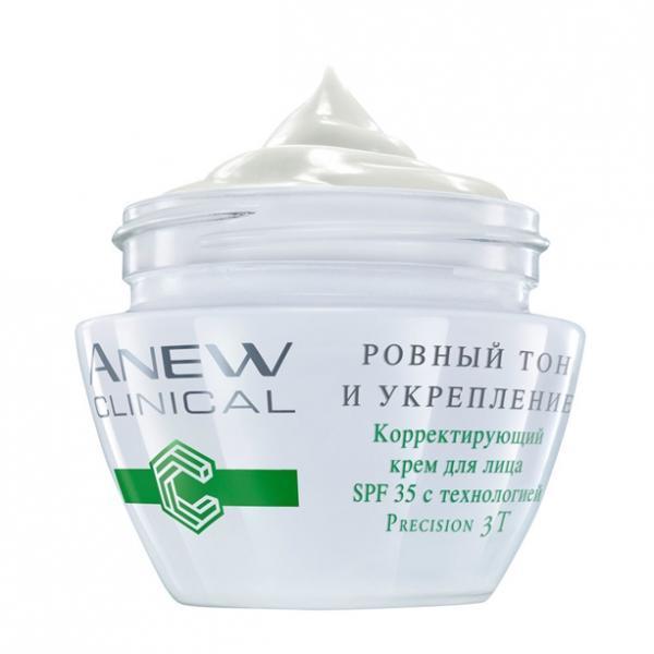 Корректирующий крем для лица «Ровный тон и укрепления» SPF 35 (30 мл)
