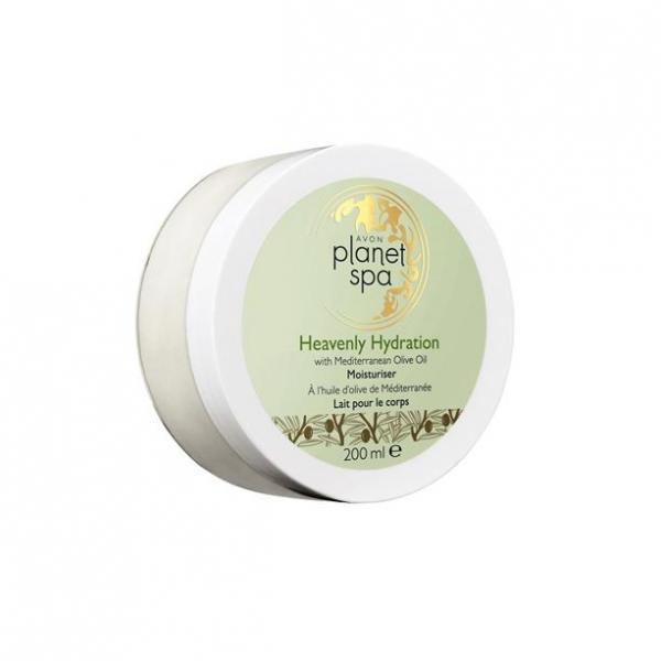 Крем-суфле для тела с маслом оливы «Райское увлажнение», 200 мл