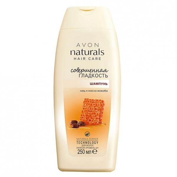 Фото для волос, шампуни и ополаскиватели Шампунь для волос «Совершенная гладкость. Мед и масло жожоба», 250 мл