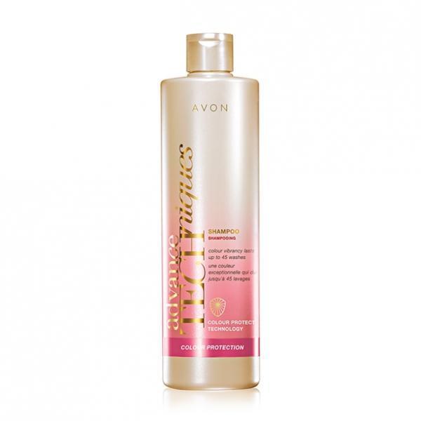 Фото для волос, шампуни и ополаскиватели Шампунь для окрашенных волос «Защита цвета» (400 мл)