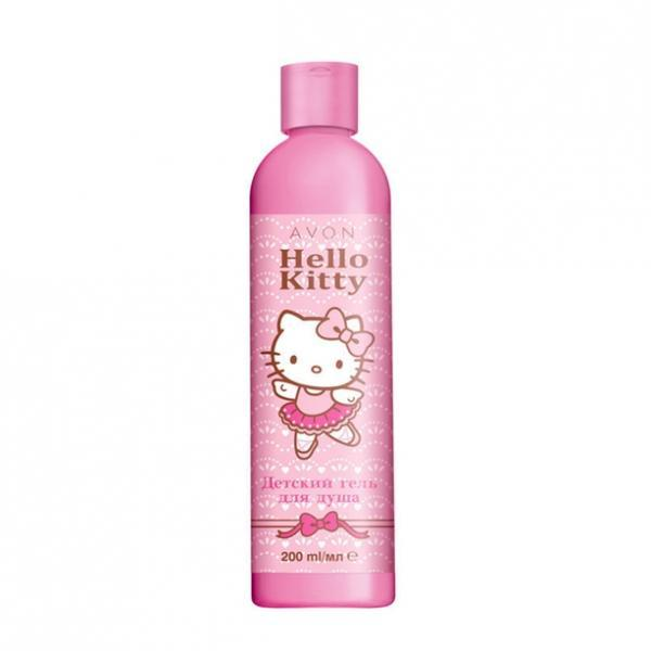 Детский гель для душа Avon Hello Kitty (200 мл)