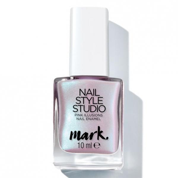 Полуматовый лак для ногтей «Дизайн-студия. Эффект сатина. Розовая иллюзия»