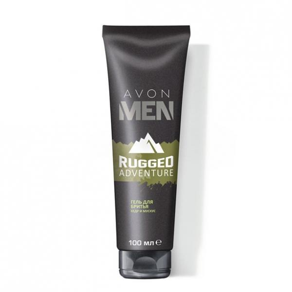 Гель для бритья Avon Men Rugged Adventure, 100 мл