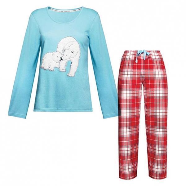 Женская пижама «Белая медведица»