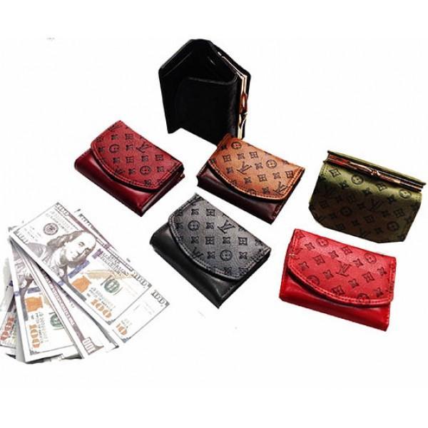 Женский маленький кошелек Louis Vuitton Артикул 4011 в ассортименте