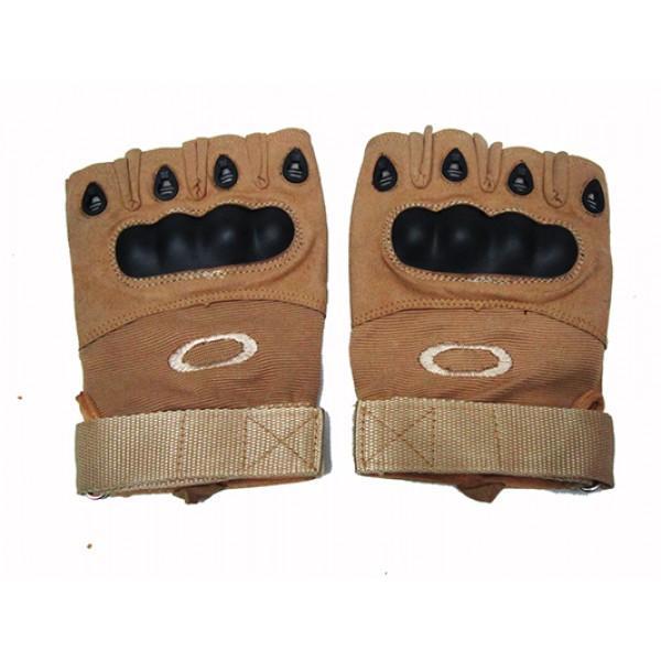Мужские перчатки без пальцев Boxing Артикул Ю120 светло-коричневые