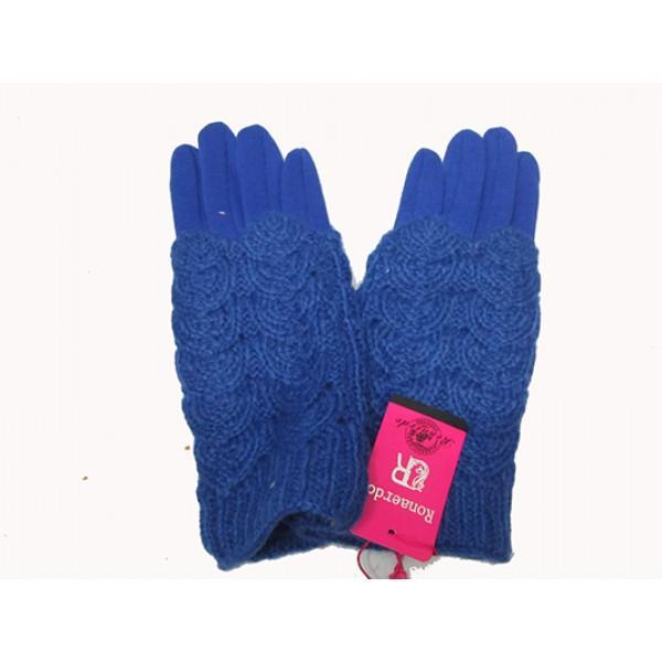 Женские перчатки кружево Boxing Артикул Ю-85 синие