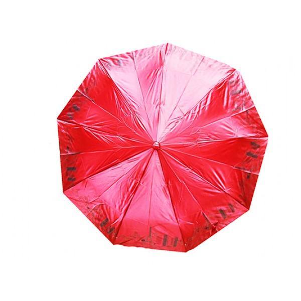 Женский зонт High Quality Артикул 155 малиновый