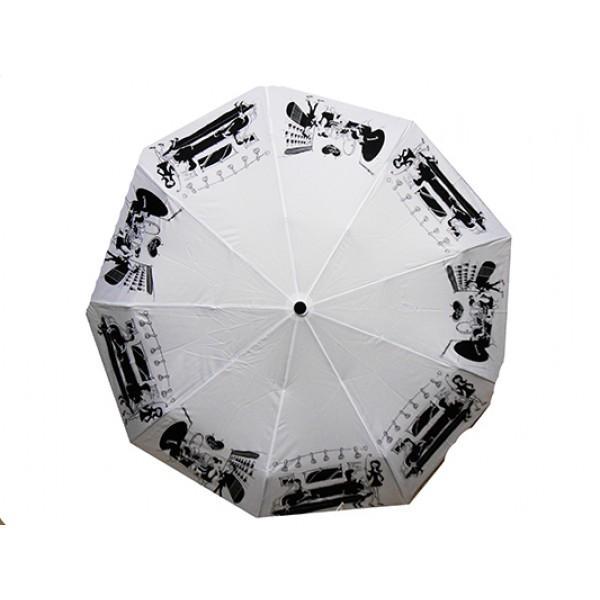 Женский зонт Dolpnin автомат Артикул 541-196 серый принт