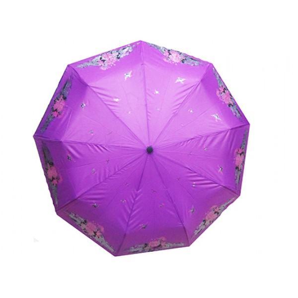 Женский зонт Dolpnin автомат Артикул 290 фиолетовый