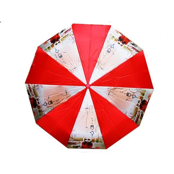 Женский зонт Snelter автомат Артикул 481-212 красный