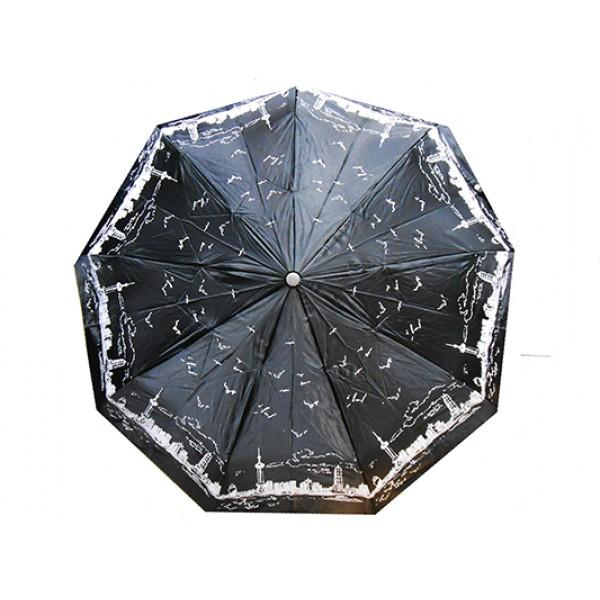 Женский зонт Sneter автомат Артикул 482 черный