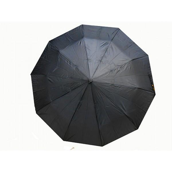 Мужской зонт полуавтомат 3 сложения Rain-Proof Артикул 1051