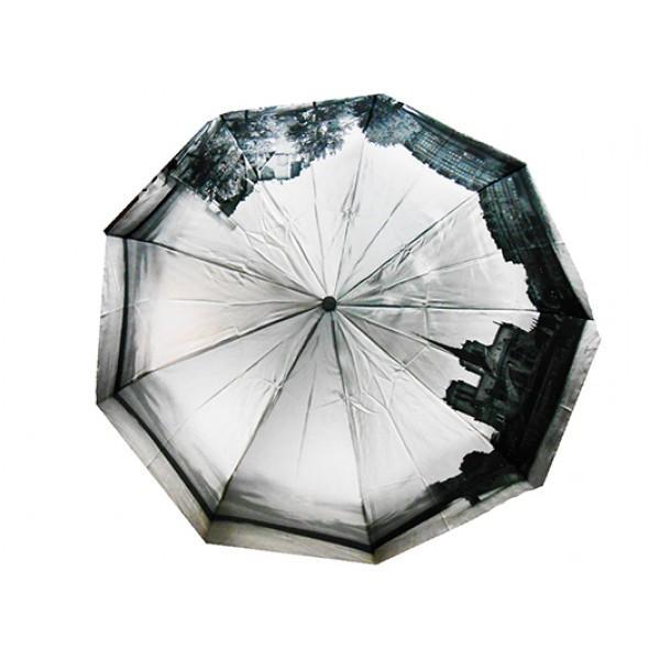 Женский зонт полуавтомат 3 сложения River Артикул 2322 №01