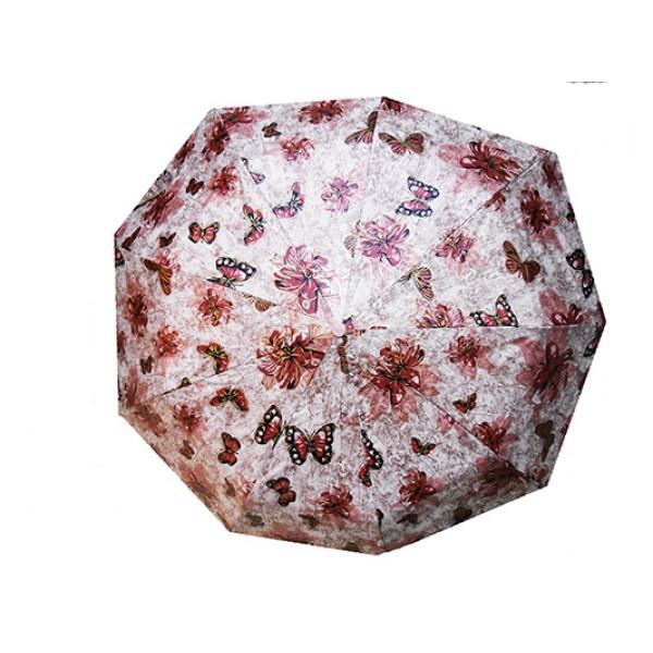 Женский зонт полуавтомат 3 сложения Amico Артикул 3517 №01