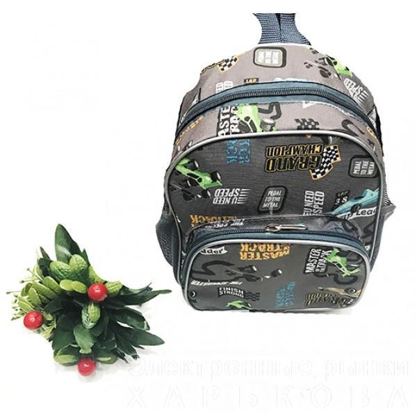 Детский рюкзак Артикул С 250-гонки - Школьные рюкзаки и портфели на рынке Барабашова
