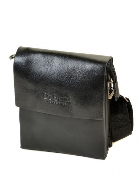 Мужская сумка планшет иск-кожа DR. BOND 302-0 black