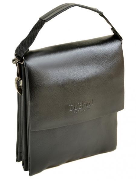 Мужская сумка планшет иск-кожа DR. BOND 206-1 black