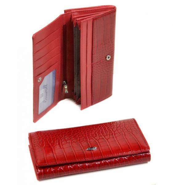Женский кошелек Series-1 Артикул WD-3 красный