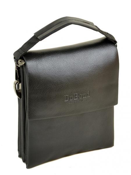 Мужская сумка планшет иск-кожа DR. BOND 302-1 black